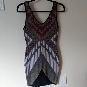 Sweater body con dress